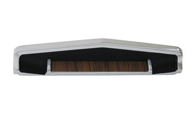 1969-70 B-body Diecast Woodgrain Console Top Trim