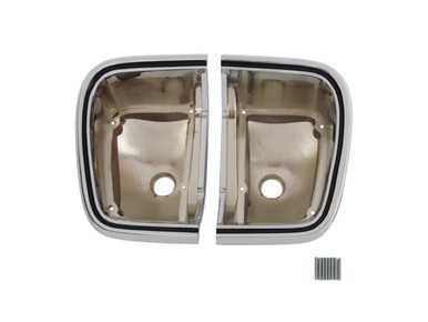 1967 Plymouth Barracuda Taillight Bezels