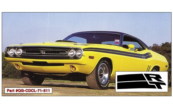 1971 Dodge Challenger R/T Side Stripes Kit