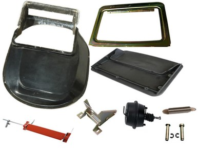 1970 Roadrunner GTX 1971-72 Charger Air Grabber Kit