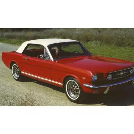 *1965-66Mustang GT Lower Stripe - No Cutout