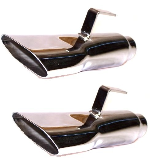 1968 1969 1970 Plymouth Road Runner GTX Stainless Steel Exhaust Tips