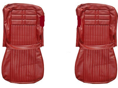 1963 Chevy Impala SS Front and Rear Seat Upholstery Covers