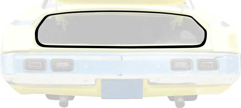 1963-74 Mopar A, B & E-Body Trunk Weatherstrip