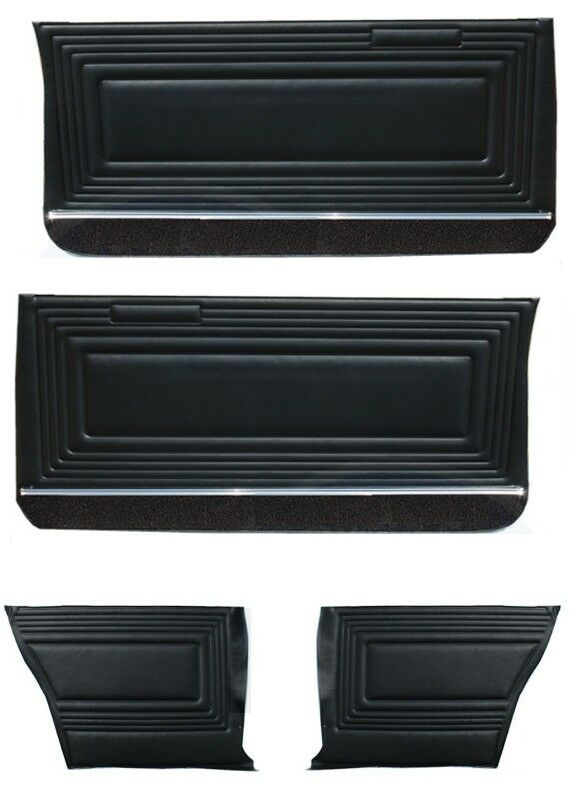 1965 Pontiac Beaumont GTO Front Doors & Rear Quarter Trim Panels