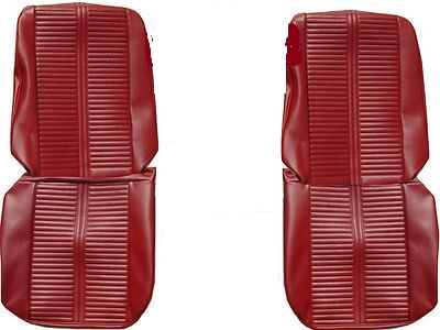 1966 Pontiac GTO/LeMans Front and Rear Seat Upholstery Covers