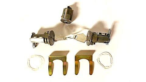1966-1968 A,B,C-body Ignition and Door Lock Set