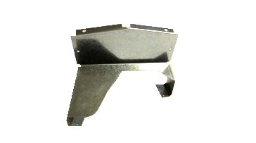1967-1970 B-Body Console Back Plate Support