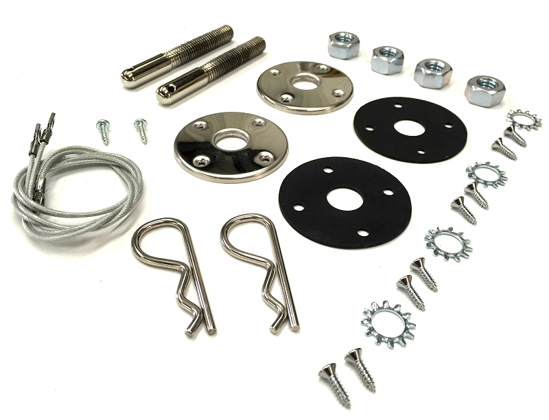 1968 1969 1970 B-Body Charger Road Runner GTX Hood Pin Kit with 23