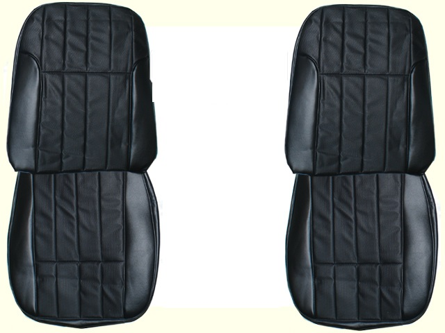 1968-1969 Pontiac Firebird Deluxe Front and Rear Seat Upholstery Covers