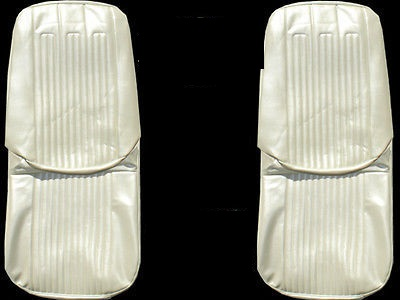 1968 Pontiac GTO/LeMans Front and Rear Seat Upholstery Covers