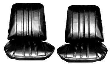1968 Chevy II Nova  SS Custom Front and Rear Seat Upholstery Covers