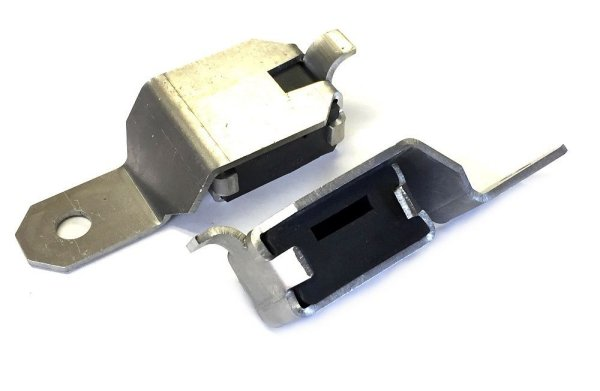 1968-1970 Dodge Charger Exhaust Tip Hangers Set