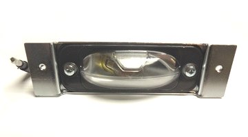 1968-1974 Dodge, Plymouth A, B, E-Body License Plate Light Lens Assembly