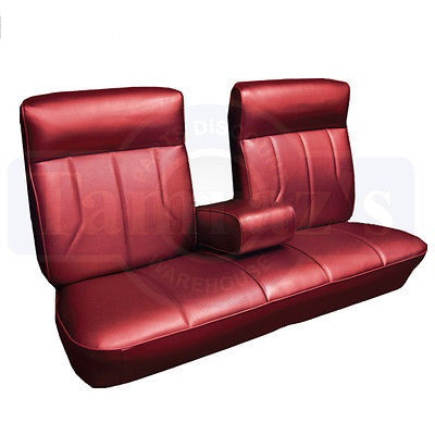 1969 Cadillac Deville Front and Rear Seat Upholstery Covers