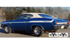 1969 Chevy Chevelle Yenko SYC Stripe Kit