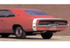 1969 Dodge Charger 500 Bumble Bee Stripe Kit - 500 Numeral