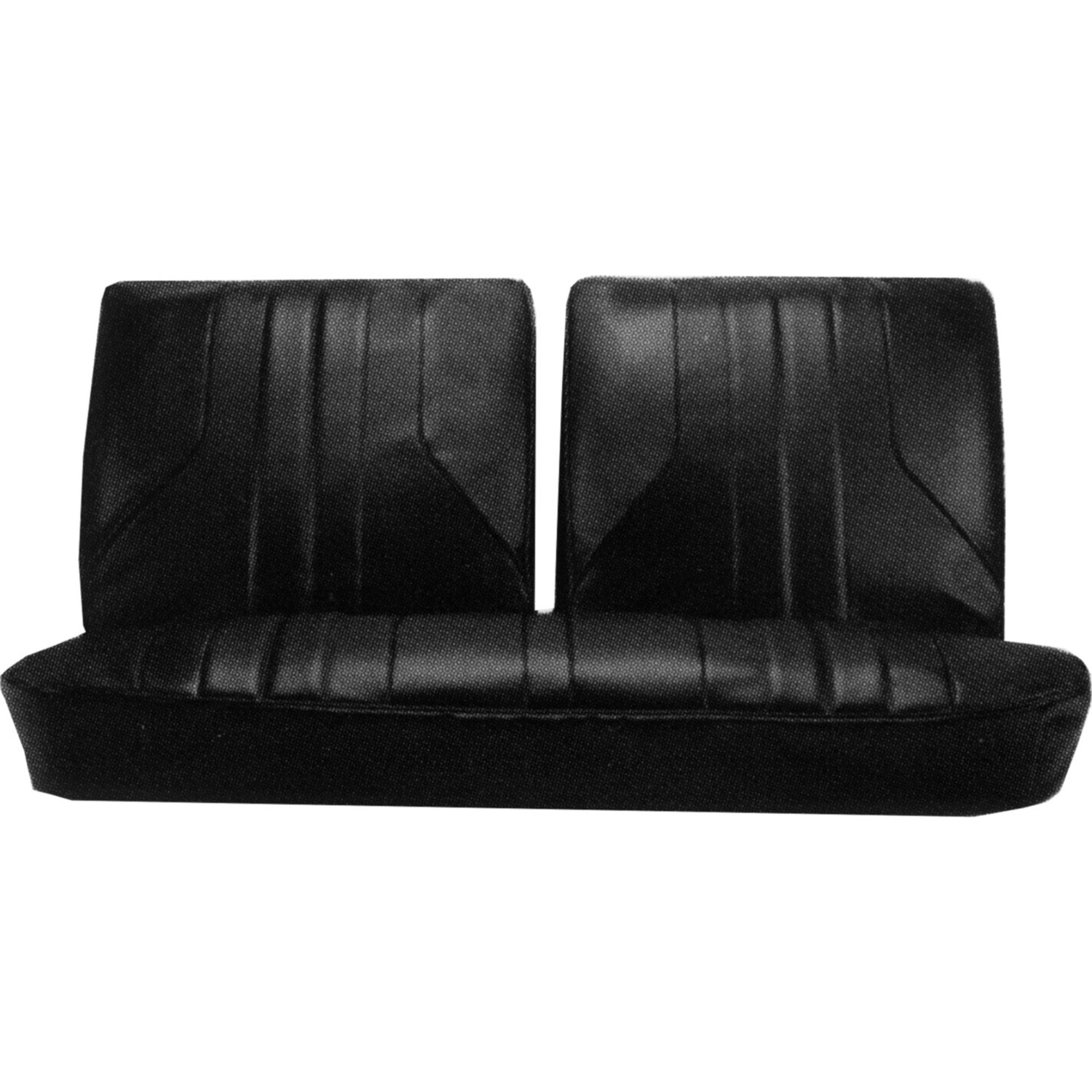 1969 Buick Skylark GS 350 Bench Front and Rear Seat Upholstery Covers