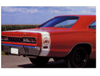 1969-70 Dodge Coronet Super Bee Bumble Bee Tail Stripes with Bee Logo