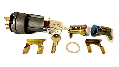1969 Dodge, Plymouth, Chrysler  A,B,C-body Door Lock Set With Ignition Switch