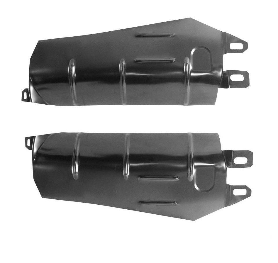 1970-1974 Cuda Challenger E-Body Muffler Heat Shields