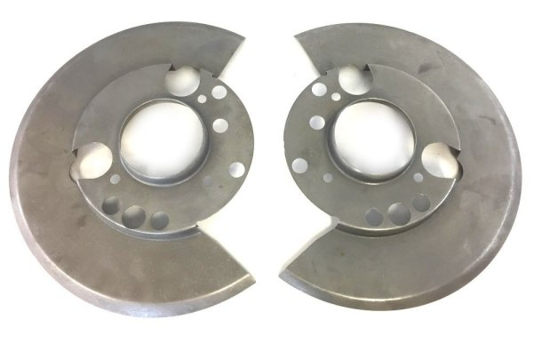 1970-1972 Dodge and Plymouth E Body Disk Brake Rotor Dust Shields