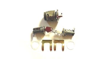 1970-1974 A,B,C, E-body Ignition and Door Lock Set