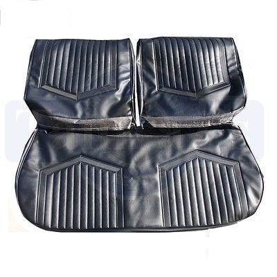 1971 Buick Skylark GS Standard Bench Front and Rear Seat Upholstery Covers
