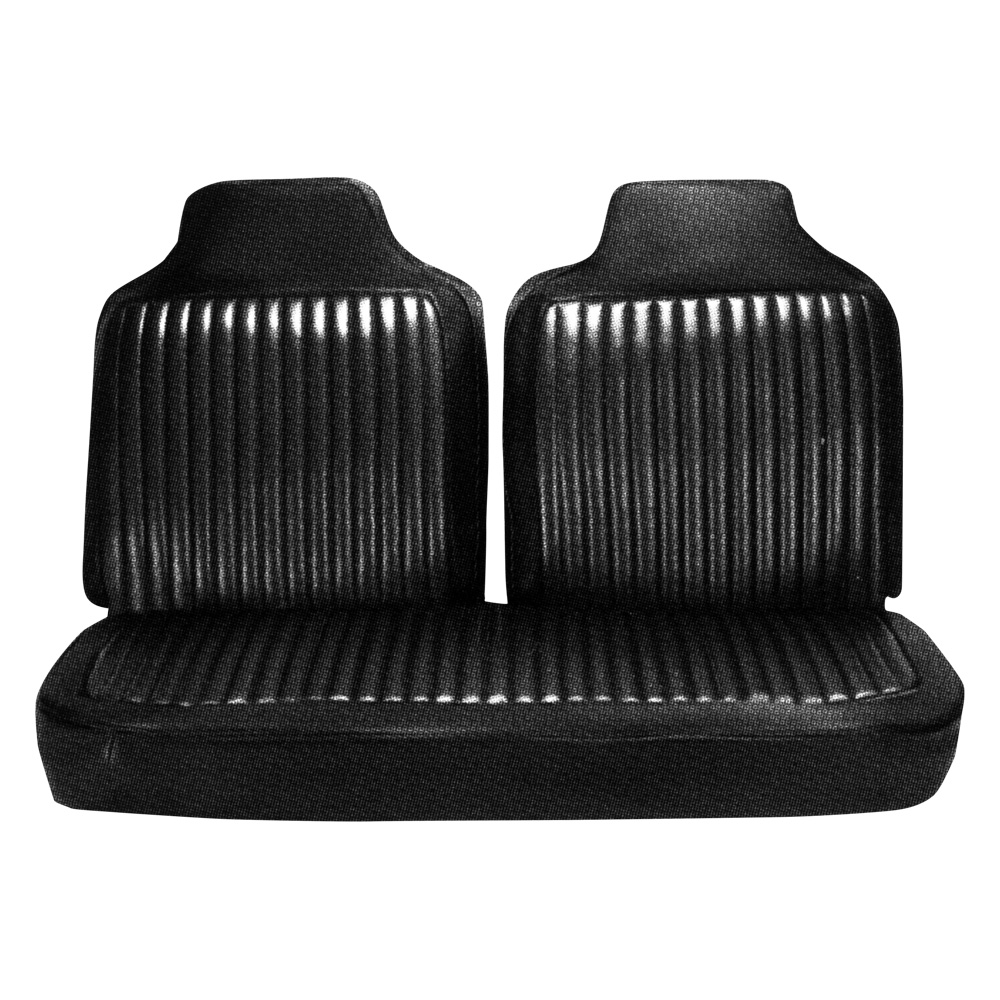 1972 Plymouth Duster Dart 340 Demon Front Bench and Rear Seat Upholstery Covers