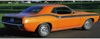 1972 Plymouth Barracuda Upper Body Side Stripe Kit