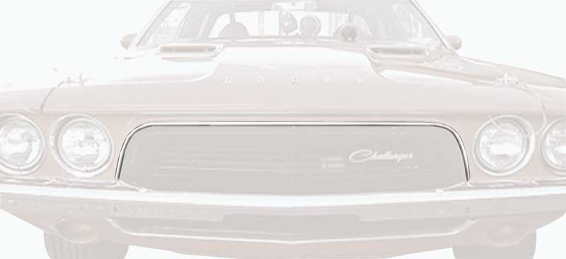 1972-1974 Dodge Challenger Grill Molding