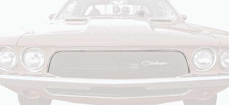 1972 1973 1974 Dodge Challenger Grille Trim Molding