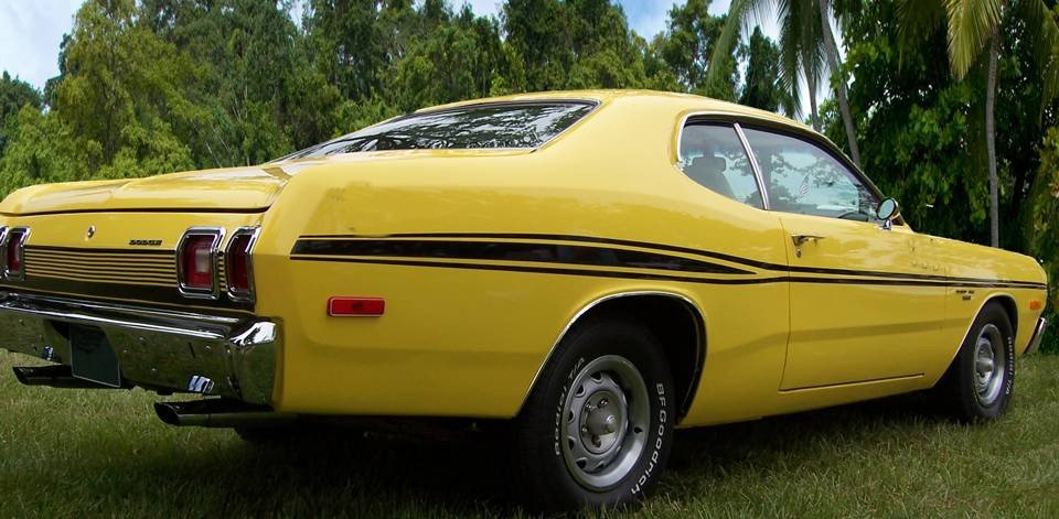 1973 1974 Dodge Dart Sport Mid Body Side Stripes Kit