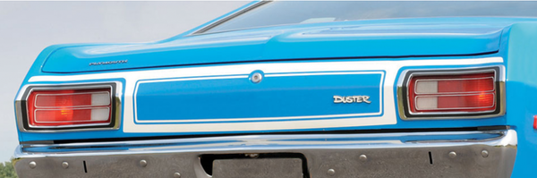 1973 1974 Plymouth Duster Tail Panel Stripes Kit