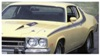 1973 Plymouth Road Runner Side & Solid Roof Stripe Kit - 1 Mirror
