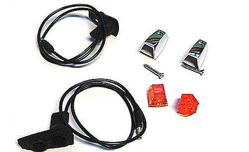 1973-1974 A, B, E-Body Hood Turn Signal Lens Indicator Assemblies
