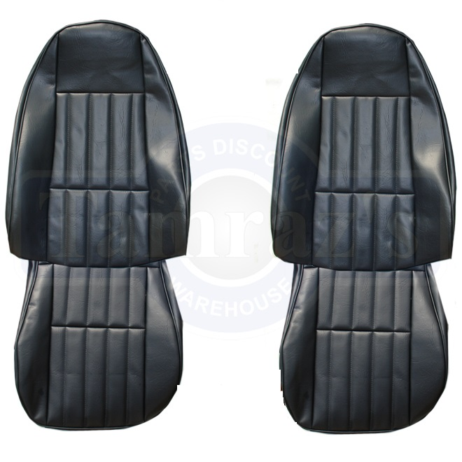 1980 Pontiac Firebird Front and Rear Seat Upholstery Covers