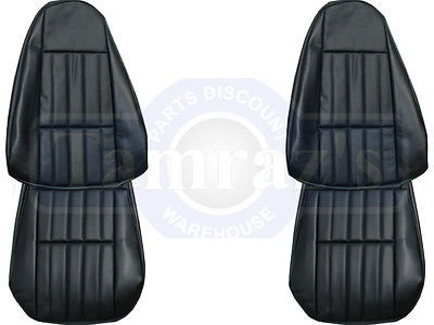 1980-1981 Chevy Camaro Standard Front and Rear Seat Upholstery Covers