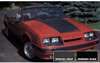 1985-86 Mustang GT Hood Blackout Decal