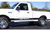 1987-11 Ford Ranger Lower Stripe Kit - FORD RANGER Name