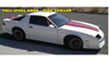 1991-92 Camaro 25TH Anniversary Stripe - HATCHBACK - Full Hood - HS