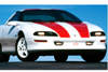 1993-97 Camaro - Z28 - 1997 30th ANNIVERSARY Stripe Kit - COUPET-TOP