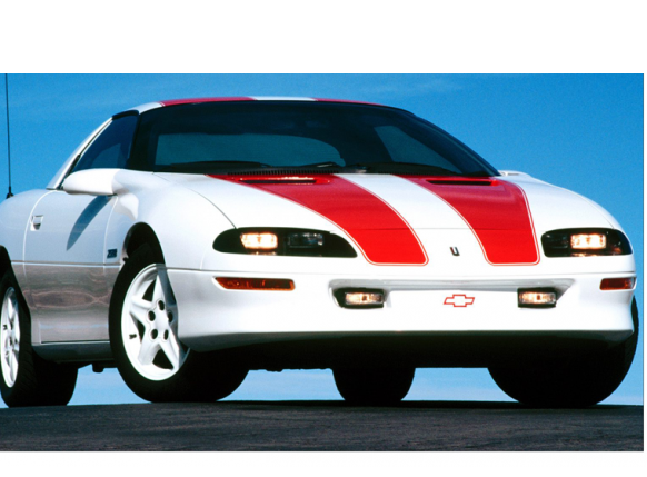 1993 97 camaro z28 30th anniversary stripe kit coupe with roof kit. Black Bedroom Furniture Sets. Home Design Ideas