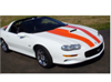 1998-02 Camaro SS Stripe Kit -COUPE or T-TOP - No Roof Stripes