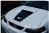 1999-04 Mustang Square Nose Hood Decal with Pinstripe & Pony Cutout