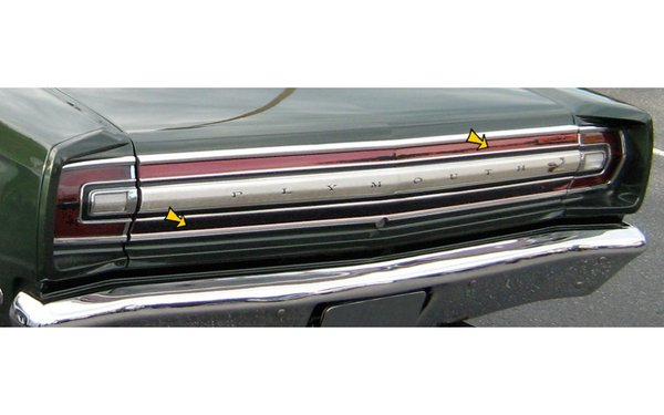 1968 Plymouth Road Runner Tail Panel Pinstripe kit