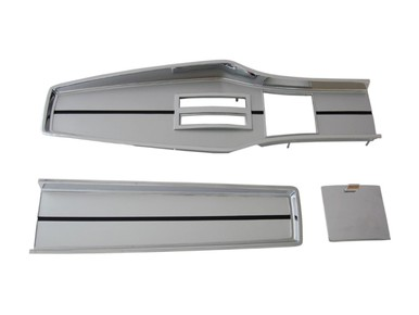 1967-68 A-body Chrome Automatic Console Plate Kit