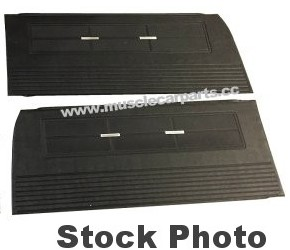 1970-1971 Chevy Camaro Front Door Panels