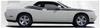 2009 2010 2011 2012 2013 2014 Dodge Challenger Duel Hash Side Stripes Kit