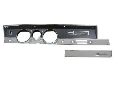 1967 A-body Rallye Dash Bezel Kit (NO AC)